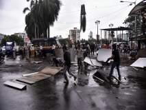 Mumbai Rain Update : वांद्रे येथे स्कायवॉकचा भाग कोसळून तीन महिला जखमी