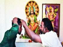 मुस्लीम व्यापाऱ्याने केला हनुमान मंदिराचा जीर्णोद्धार, मोहम्मद पप्पू या तरुणाने घालून दिला आदर्श