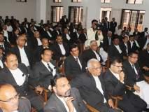 राष्ट्रीय लोकन्यायालयासह २५ पासून वकील न्यायालयीन कामकाजापासून अलिप्त