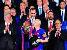 बार्सिलोनाने पटकावले 'कोपा डेल रे'