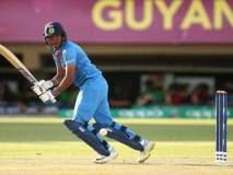 T20 Ind vs New : कर्णधार हरमनप्रीतचे तुफानी शतक, न्यूझीलंडला 195 धावांचे लक्ष्य