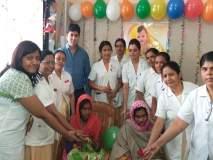 बीडच्या जिल्हा रूग्णालयात रंगला मुलींचा जन्मोत्सव सोहळा