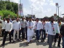Bharat Bandh : मोर्चा, ठिय्या आंदोलनाने मराठवाड्यात भारत बंदला उत्स्फूर्त प्रतिसाद