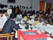सोलापूर जिल्हा नियोजन समितीच्या बैठकीत पालकमंत्री, भारत भालके यांच्यात खडाजंगी