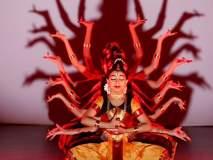 भरतनाट्यम्मधून करवीरनिवासिनी अंबाबाईला वंदन, नर्थना स्कूल आॅफ डान्सचा उपक्रम