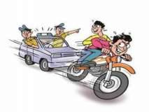अल्पवयीन मुलाच्या मदतीने दुचाकी चोरणारे अटक