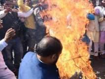 मध्य प्रदेशात 10 दिवसांत 4 भाजपा नेत्यांच्या हत्या; कार्यकर्ते रस्त्यावर