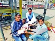 नागपूर रेल्वेस्थानकावर महिलेने दिला बाळाला जन्म