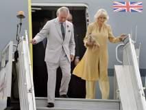इंग्लंडचे राजपुत्र चार्ल्स यांचे भारतात आगमन