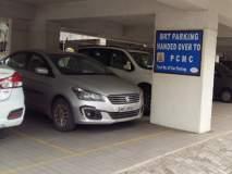 पिंपरी-चिंचवडमध्ये बीआरटीएस पार्किंगचा गोरखधंदा