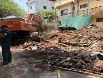 नेरुळमधील बेकायदा इमारतीवर सिडकोची कारवाई