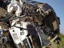 जालना-चिखली मार्गावर ट्रक-प्रवासी बसची धडक; चार गंभीर