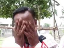 VIDEO: घरात 9 माणसं असूनही पाचच मतं; उमेदवाराला कॅमेऱ्यासमोरच रडू कोसळलं