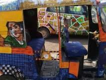 'कार्टिस्ट यात्रा'- ट्रॅव्हलिंग एक्झिबिशनमधील कलाकृती