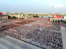 काय म्हणायचं आता! उत्तर कोरियात डान्स, फटाके फोडून मिसाइल चाचणीचं जंगी सेलिब्रेशन