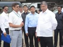 मुंबई-गोवा महामार्ग दुरुस्ती : चंद्रकांत पाटील यांनी घेतला कामाचा आढावा