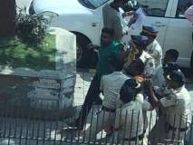 छावा संघटनेचा मंत्रालयावर मोर्चा, पोलिसांकडून आंदोलक ताब्यात