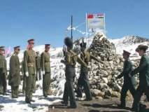 सावधान! डोकलाममध्ये भिंतीआड चीनने उभारल्या सैन्य छावण्या, बॅरेक्स
