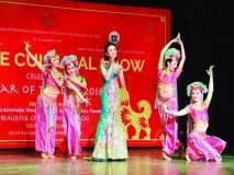'आवारा हूं...' गाण्यावर थिरकली चीनी पावले; दिल्लीत चीनी नववर्ष साजरे