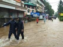 मुसळधार पावसामुळे चिपळूण जलमय, मुंबई-गोवा महामार्ग ठप्प