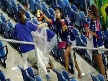 Fifa Football World Cup 2018 : जपानचे रशियामध्ये असे हे 'स्वच्छता अभियान'