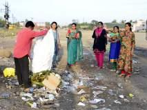 सोलापूर इनिशिएटिव्ह; कचरा हटव बयेऽऽ कचरा हटव....आपल्या परिसराचा थेट फोटो पाठव !