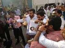 मुंबईत पेटला मनसे विरुद्ध काँग्रेस संघर्ष