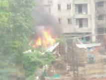 Chartered Plane Crashed In Mumbai : प्रत्यक्षदर्शींनी कथन केला शहारे आणणारा अनुभव