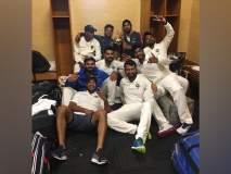 भारतीय खेळाडूंचं Dressing Room सेलिब्रेशन!