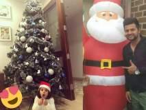Christmas 2018 : क्रीडा क्षेत्रातील दिग्गजांकडून ख्रिसमसच्या शुभेच्छा!
