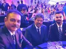 आयसीसी वर्ल्डकप 2019 : भारतीय संघाने घेतली कपिल देव यांची खास भेट