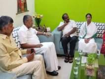 केजरीवालांच्या समर्थनार्थ चार राज्यांचे मुख्यमंत्री दिल्लीत