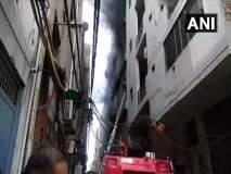 दिल्लीतील रबर फॅक्टरीत भीषण आग, 3 जणांचा मृत्यू