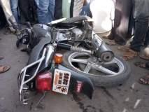 देवराईमध्ये बस आणि दुचाकीचा भीषण अपघात, दोघांचा मृत्यू
