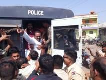 धर्मा पाटील आत्महत्या प्रकरण : काँग्रेस-शिवसेनेचा सरकारविरोधात रास्तारोको
