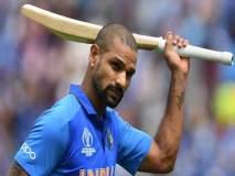 ICC World Cup 2019 : टीम इंडियाला जबरदस्त धक्का, दुखापतीमुळे शिखर धवन तीन आठवडे संघाबाहेर