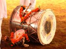 Ganesh Visarjan : भाजपने बडविला ढोल; शिवसेनेला कानठळ्या