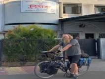 स्विडनचा अभियंता सायकलवर स्वार; दहा महिन्यांत ओलांडल्या १७ देशांच्या सीमा