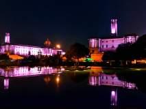 दिल्लीतील आकर्षक विद्युत रोषणाई