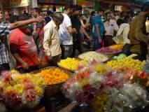 नागपुरात दिवाळी खरेदीसाठी बाजारपेठात झुंबड
