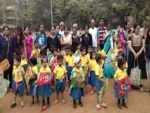 Makar Sankranti 2018 : बच्चे कंपनीने लुटला पतंग महोत्सवाचा आनंद