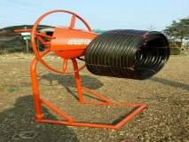ग्रासरुट इनोव्हेटर : ठिबकच्या नळ्या गुंडाळण्यासाठी शेतकऱ्याने विकसित केले वाइंडर