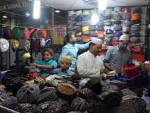 रमजान महिन्यात सजली अकोल्याची बाजारपेठ!