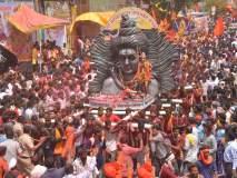 कावडयात्रा : हर्र बोला महादेवच्या गजराने दुमदुमले अकोला