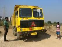 मीरा रोडच्या कनकिया भागात माती माफिया बेफाम, खारफुटीचा नाशप्रकरणी डंपर जप्त