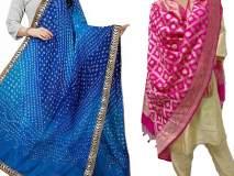 Diwali 2018 : दिवाळीमध्ये दुपट्टा करा ट्राय; डिसेंट लूक मिळण्यास होईल मदत!