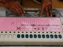 कवठा येथे मतदाराने फोडले मतदान यंत्र; बॅलेटद्वारे मतदान घेण्याची मागणी