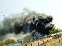 सोलापुरात सदर बझार पोलीस ठाण्याच्या आवारात आग; जप्त केलेली २०० वाहने जळून खाक