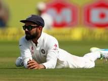 IND vs AUS Test : ... अन् मोहम्मद शमीपुढे झुकला विराट कोहली