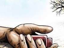 वणी-वारुळा येथील अल्पभूधारक शेतकऱ्याची आत्महत्या